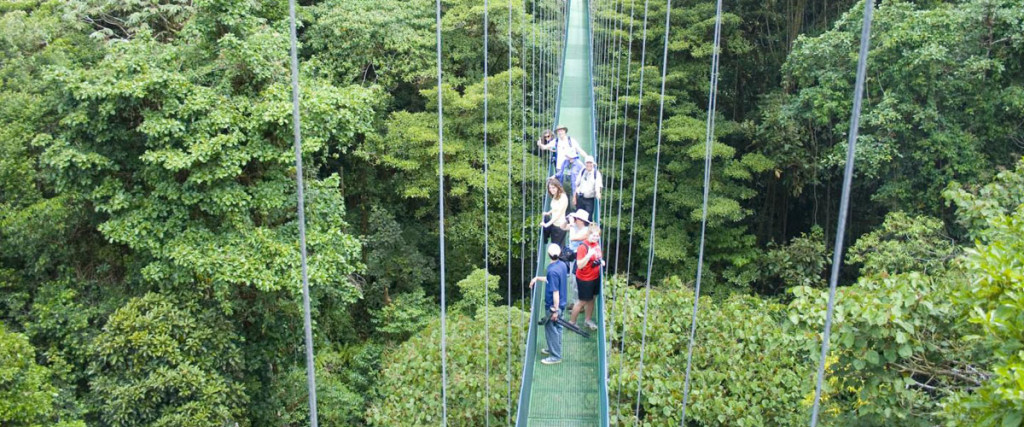 Arenal Hanging Bridges in Costa Rica