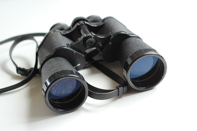 You don't want to forget your binoculars in your room!